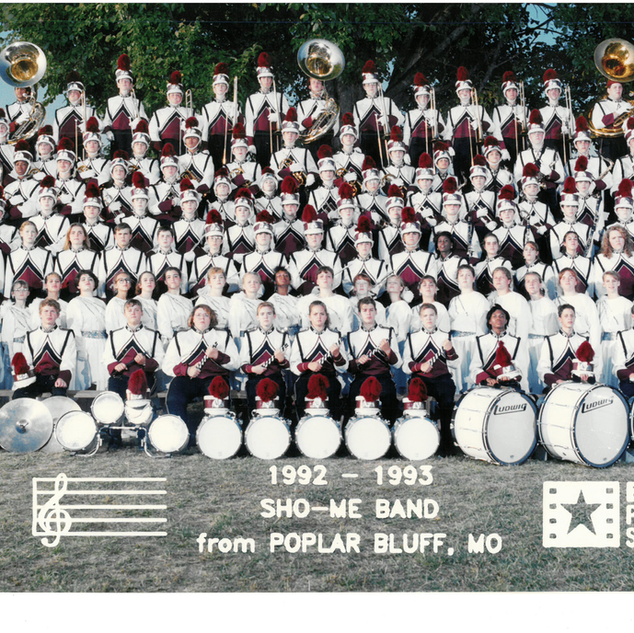 1992-93 Marching Band