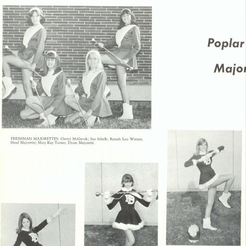 1967-68 Majorettes
