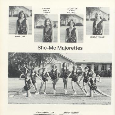 1981-82 Majorettes