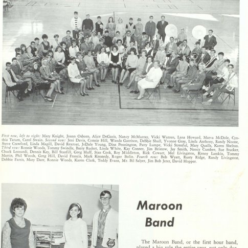 1967-68 Maroon Band