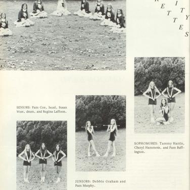 1974-75 Marjorettes
