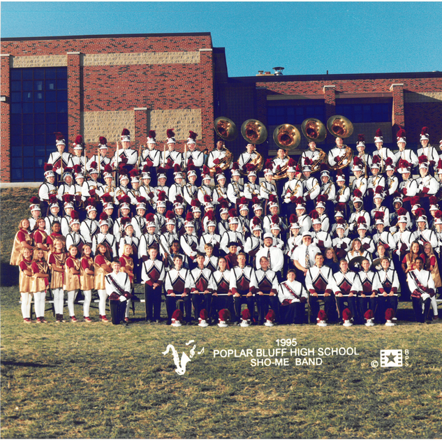 1995-96 Marching Band