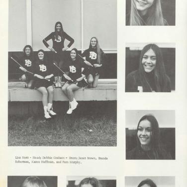 1972-73 Freshman Majorettes