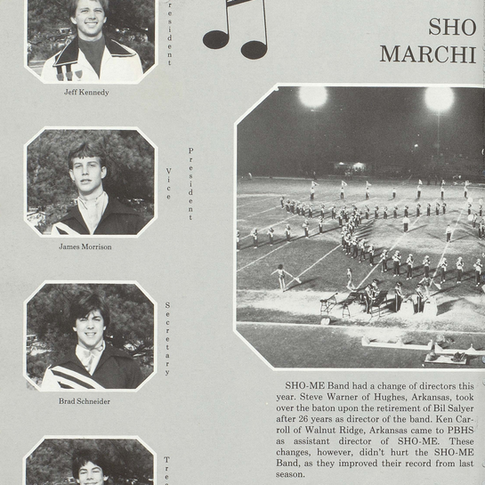 1984-85 Marching Band