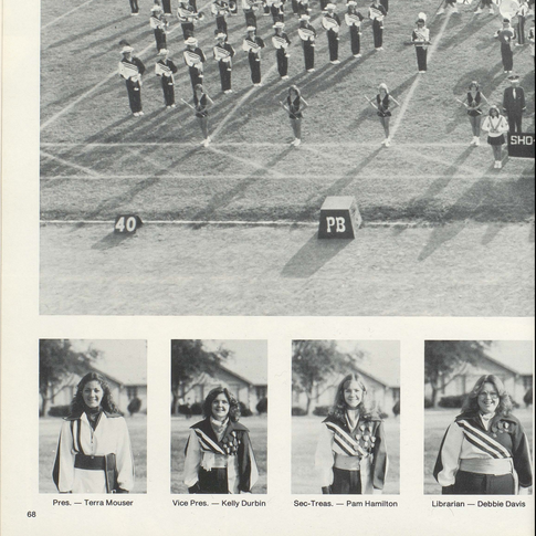 1981-82 Marching Band