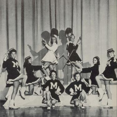 1956 Majorettes