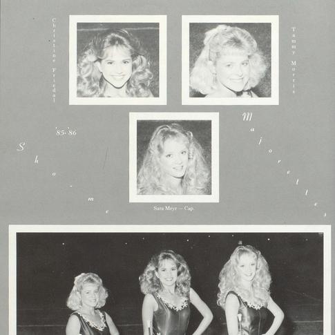 1985-86 Majorettes