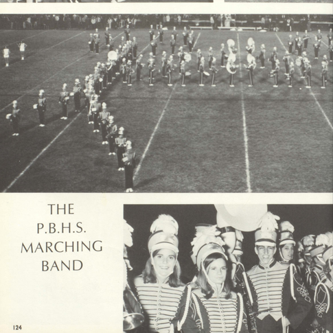 1969-70 Marching Band