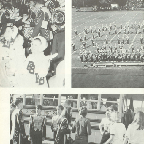 1970-71 Marching Band