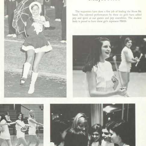 1970-71 Majorettes