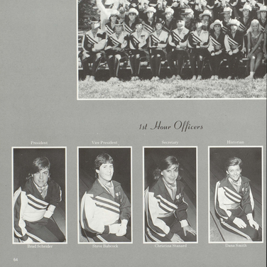1985-86 Marching Band