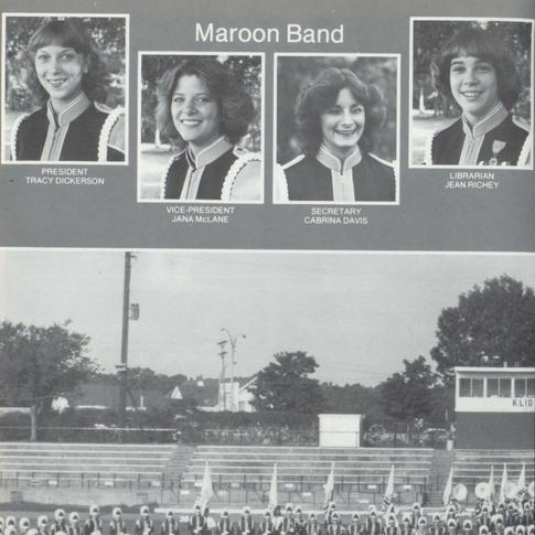 1979-80 Maroon Band