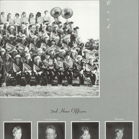 1985-86 Marching Band Pg 2