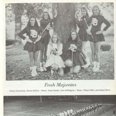 1973-74 Freshman Majorettes