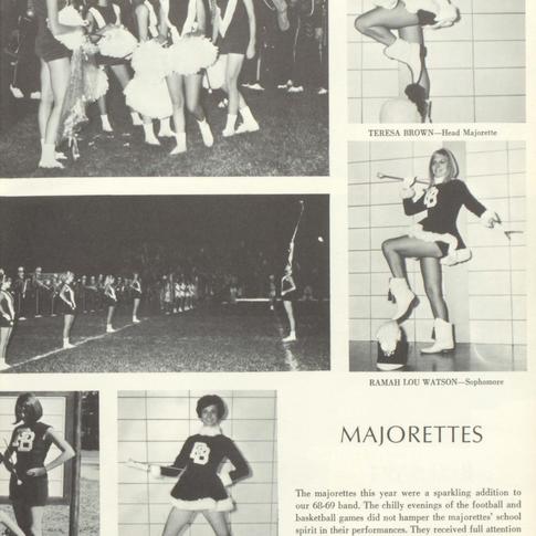 1968-69 Majorettes