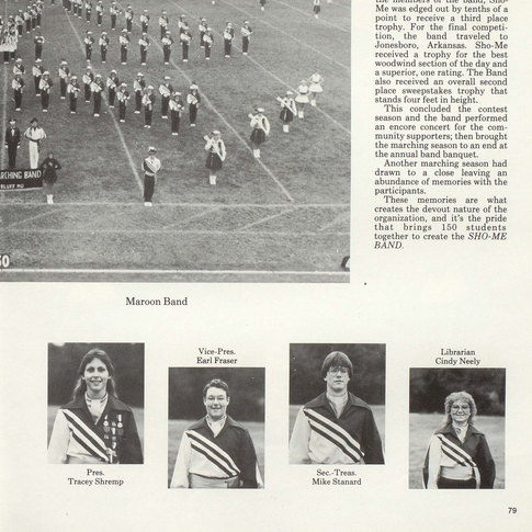 1983-84 Marching Band Pg 2