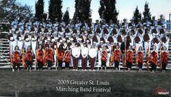 2005 Marching Band Greater St Louis-1