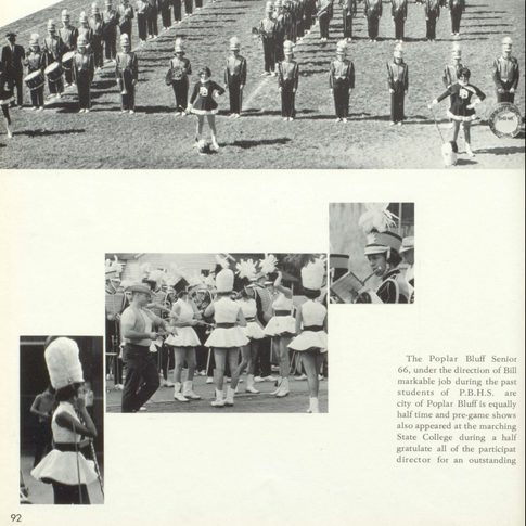 1965-66 Marching Band