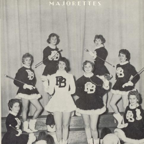1958 Majorettes