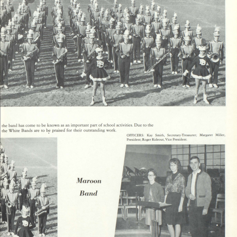 1963-64 Maroon Band