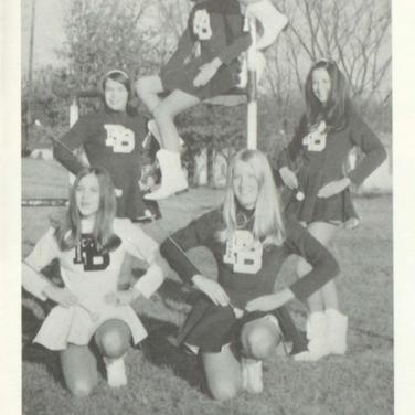 1970-71 Freshman Majorettes