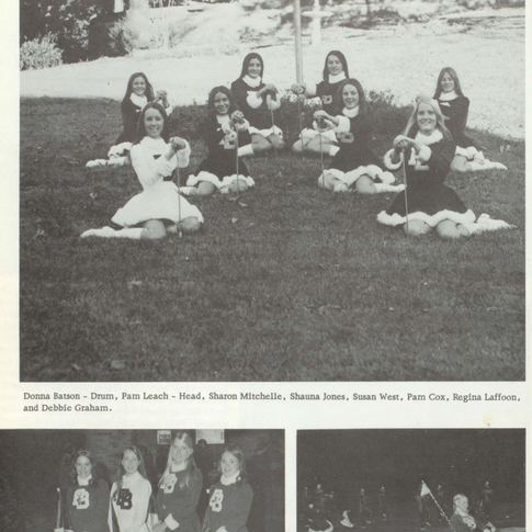 1973-74 Majorettes