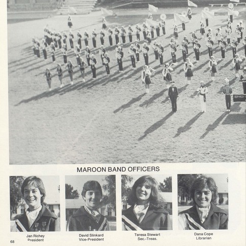1982-83 Marching Band