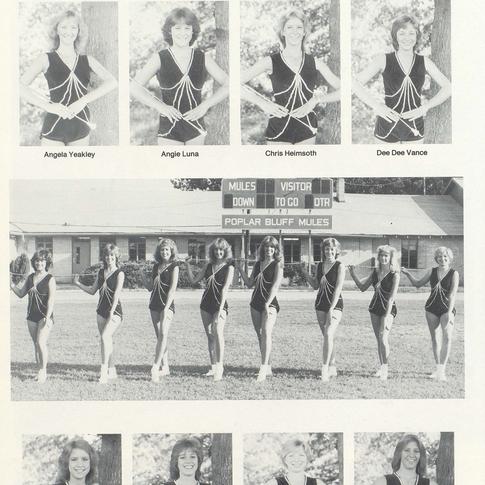 1982-83 Majorettes