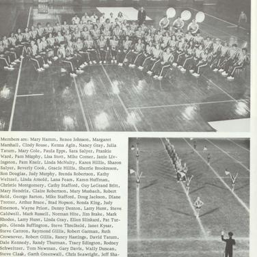 1973-74 Maroon Band
