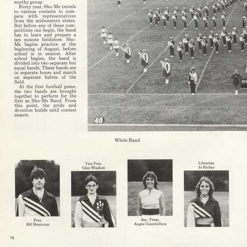 1983-84 Marching Band