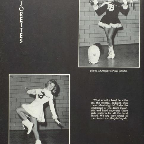 1964-65 Majorettes