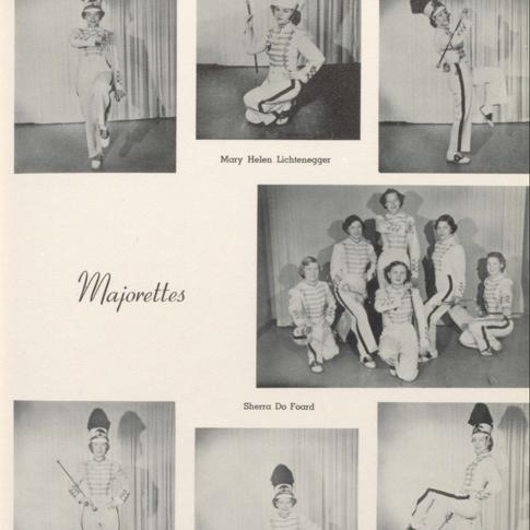 1952 Majorettes