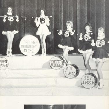 1960-61 Majorettes