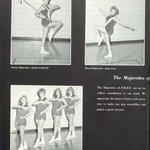 1966-67 Majorettes