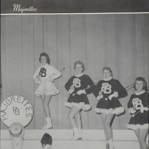 1959-60 Majorettes