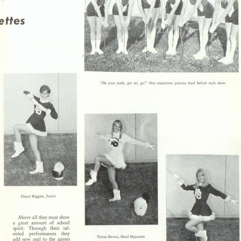 1967-68 Majorettes Pg 2