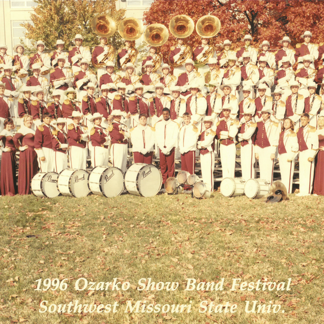 1996-97 Marching Band