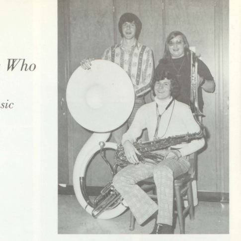 1973-74 Who's Who in Band