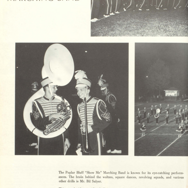 1968-69 Marching Band