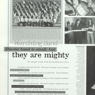 1998-99 Marching Band