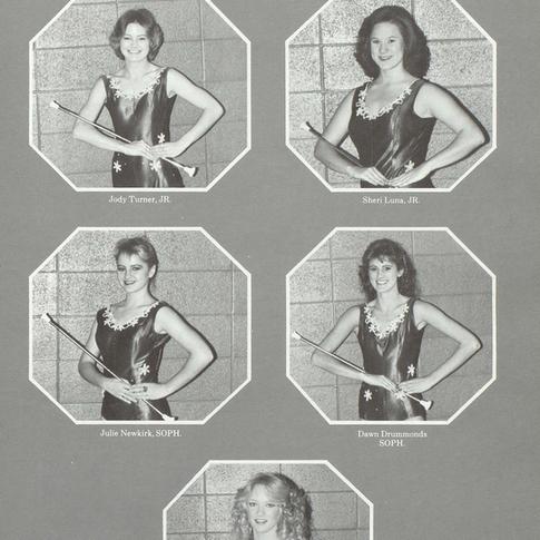 1984-85 Majorettes Pg 2