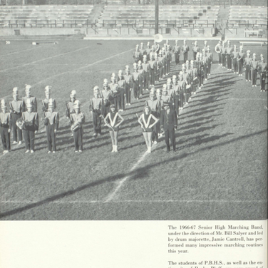 1966-67 Marching Band