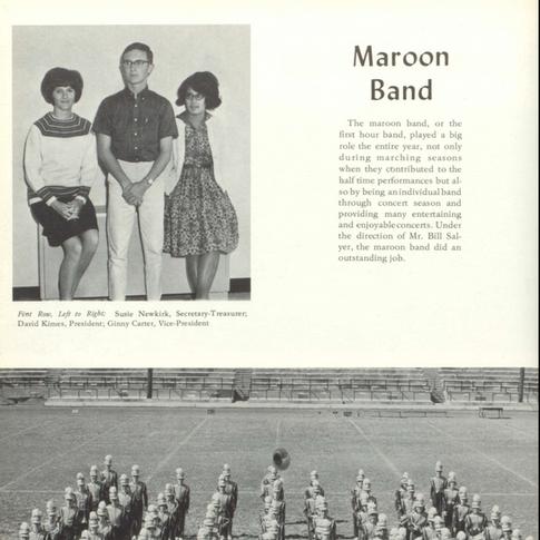 1965-66 Maroon Band