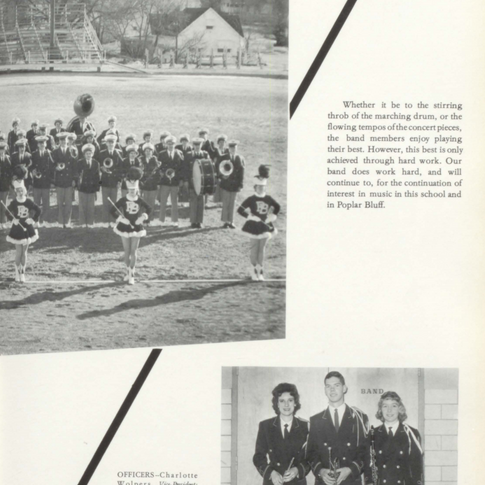 1961-62 Marching Band Pg 2