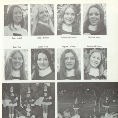 1973-74 Majorettes Pg 2