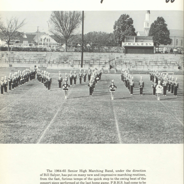 1964-65 Marching Band