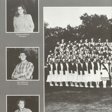 1986-87 Marching Band