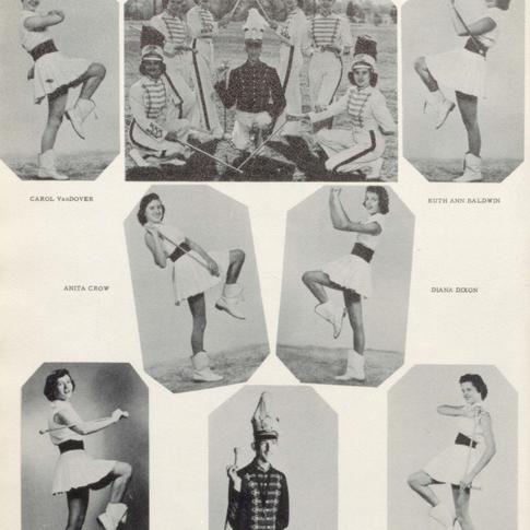 1954 Majorettes