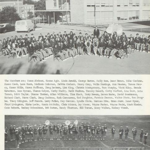 1972-73 Freshman Band