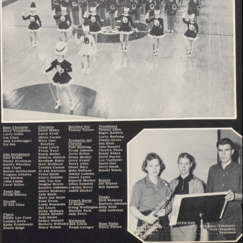 1958 Marching Band